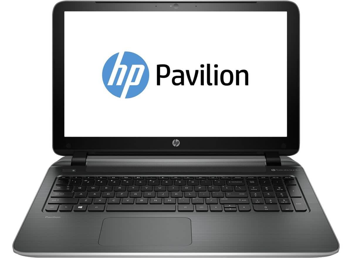 HP Pavilion 15-p242nf à 639€, PC portable 15 pouces polyvalent