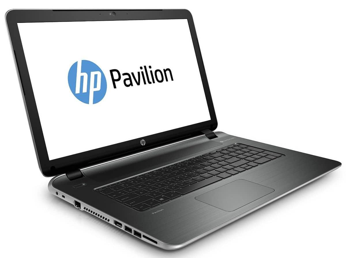 """HP Pavilion 17-f036nf, 17.3"""" avec Pentium Quad Core Bay Trail et disque dur de 750 Go en vente flash à 379€ (-100€)"""