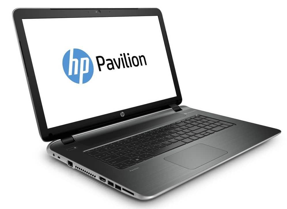 HP Pavilion 17-f208nf à 349€, PC portable 17 pouces pas cher