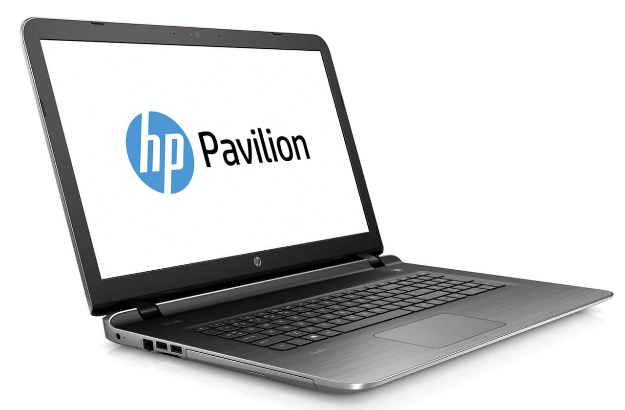 HP Pavilion 17-g019nf à 574€, PC portable 17 pouces