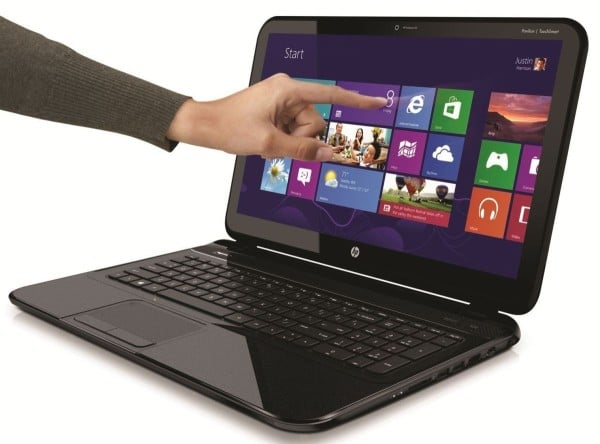 "HP Pavilion Sleekbook TouchSmart 14-B148sf à 599€, Ultrabook 14"" tactile : Core i3, 500 Go"
