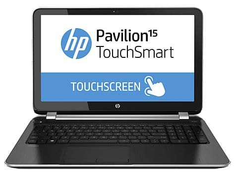 "HP Pavilion TouchSmart 15-n288nf, 15.6"" tactile avec Core i3 Haswell, 6 Go, Radeon HD8670M, 1000 Go à 599€"
