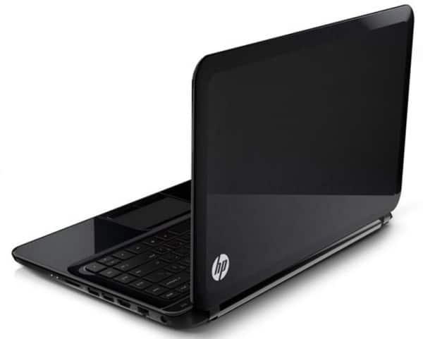 "HP Pavilion TouchSmart Sleekbook 14-b142sf, Ultrabook 14"" tactile à 469€ avec Core i3, 500 Go"