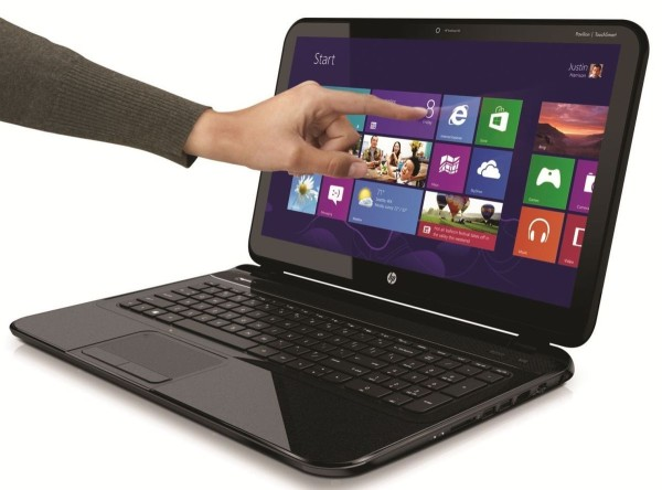 """HP Pavilion TouchSmart Sleekbook 14-b144sf, 14"""" tactile multi-touch : Core i3, 500 Go, 1.8 Kg à 499€"""