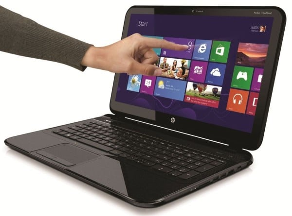 """HP Pavilion TouchSmart Sleekbook 15-b126sf, 15.6"""" tactile à 599€ avec Core i3, 500 Go"""