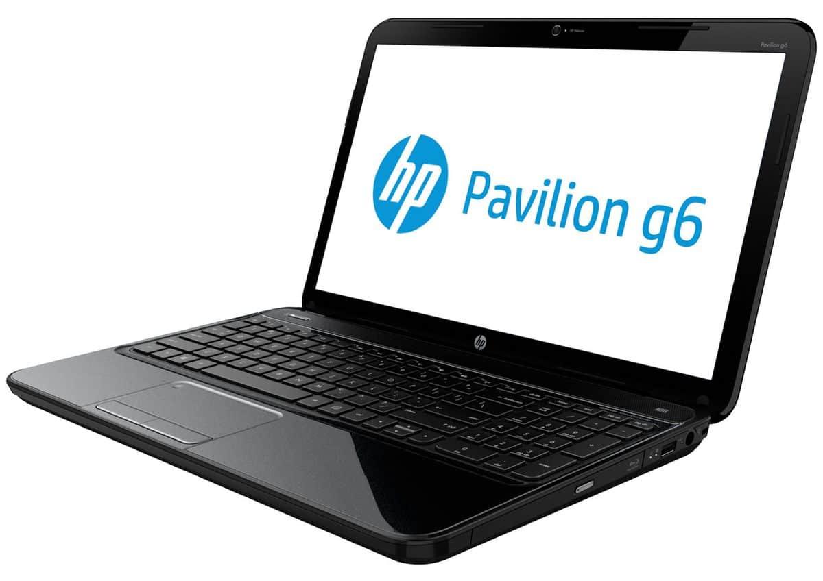 """HP Pavilion g6-2319sf, 15.6"""" polyvalent avec Core i3 Ivy Bridge, Radeon HD7670M, 750 Go à 474€"""
