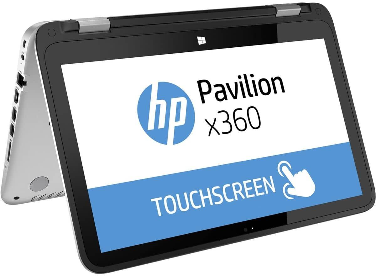 HP Pavilion x360 13-a203nf vente flash 499€, 13 pouces tactile/Tablette