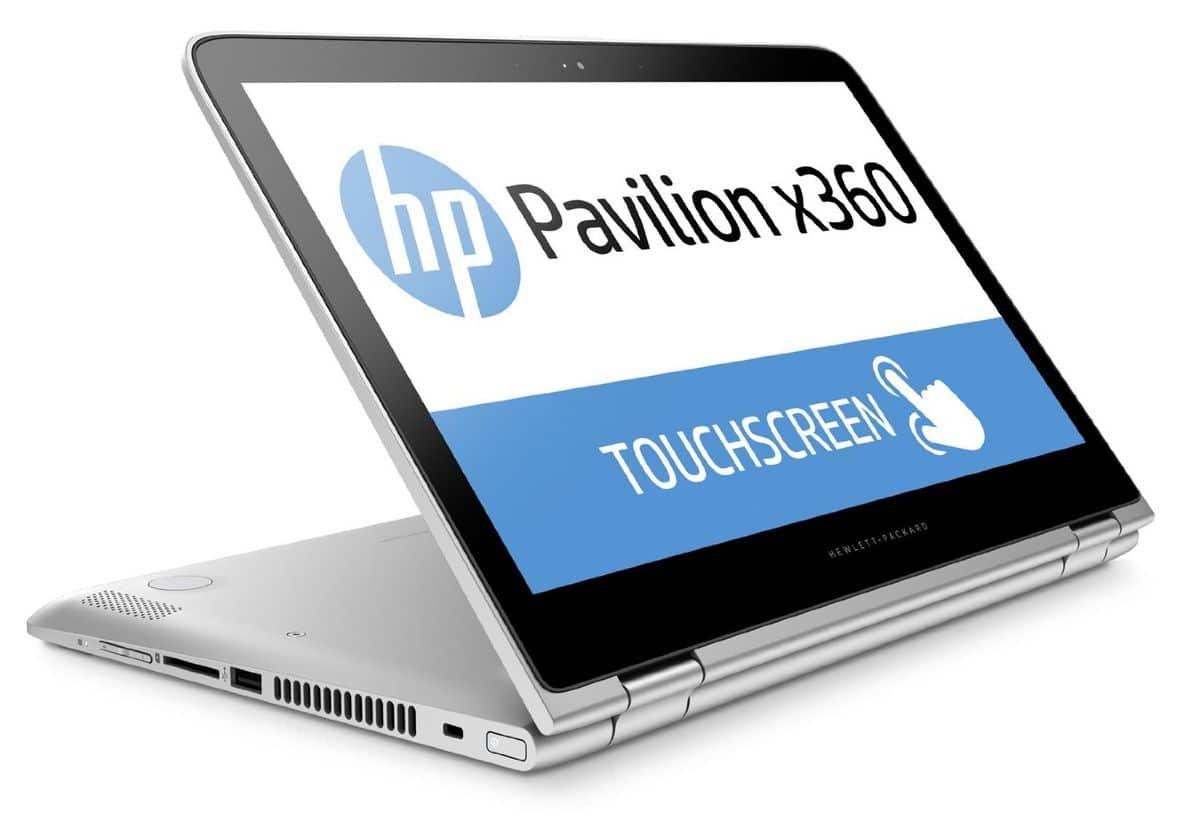 HP Pavilion x360 13-s107nf à 680€, PC portable 13 pouces Full IPS tactile/Tablette
