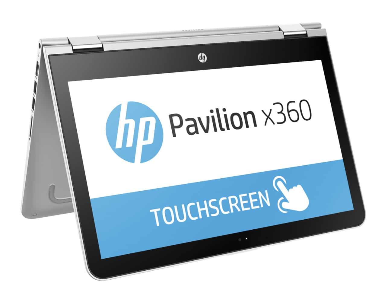 HP Pavilion x360 13-u108nf, Ultrabook 13 pouces IPS Tablette SSD256 (649€)