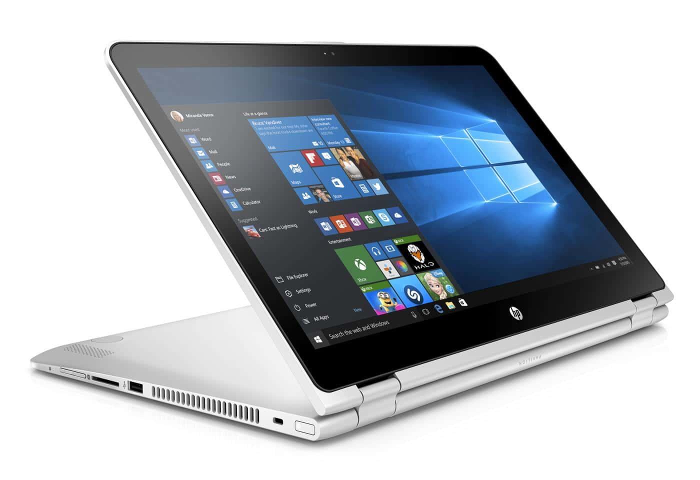 HP Pavilion x360 15-bk001nf, PC portable 15 pouces convertible promo 529€