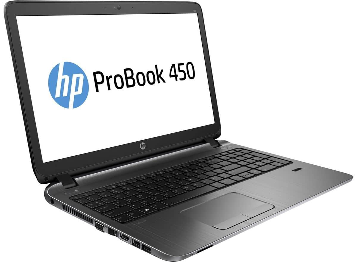 HP ProBook 450 G2 à 554€, PC portable 15 pouces mat