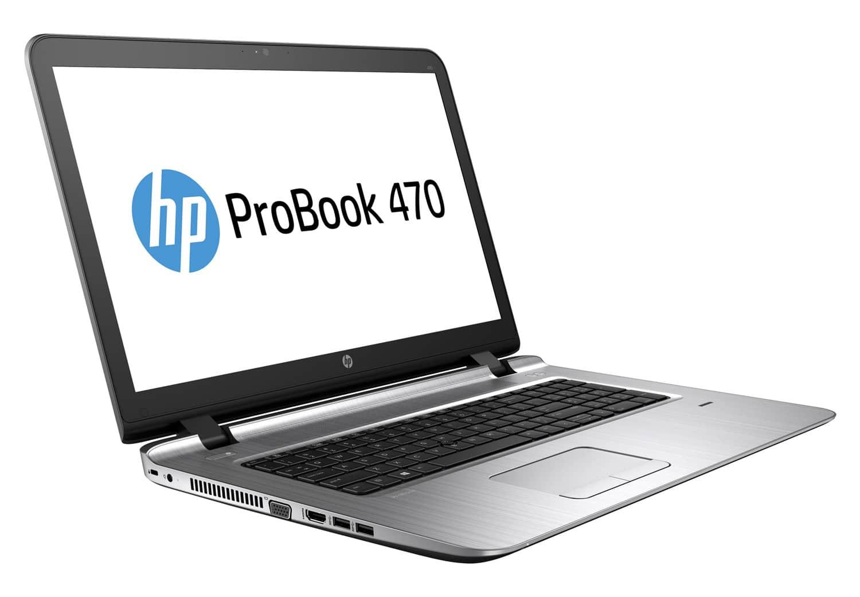 HP ProBook 470 G3 à 635€, PC portable 17 pouces Full HD mat Skylake Radeon R7