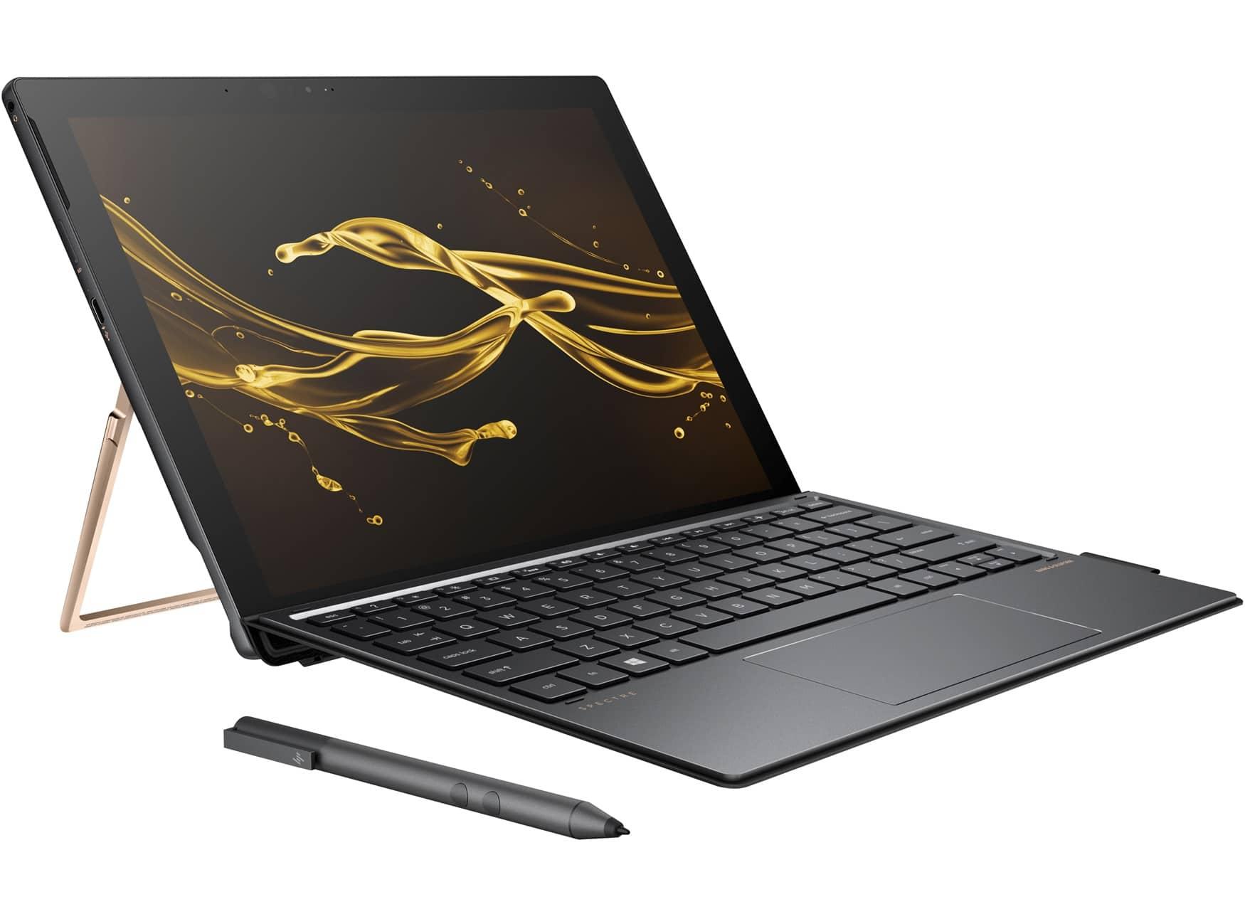HP Spectre x2 12-c000nf, ultrabook/tablette 12'' 3K/2K i5 Kaby (768€)