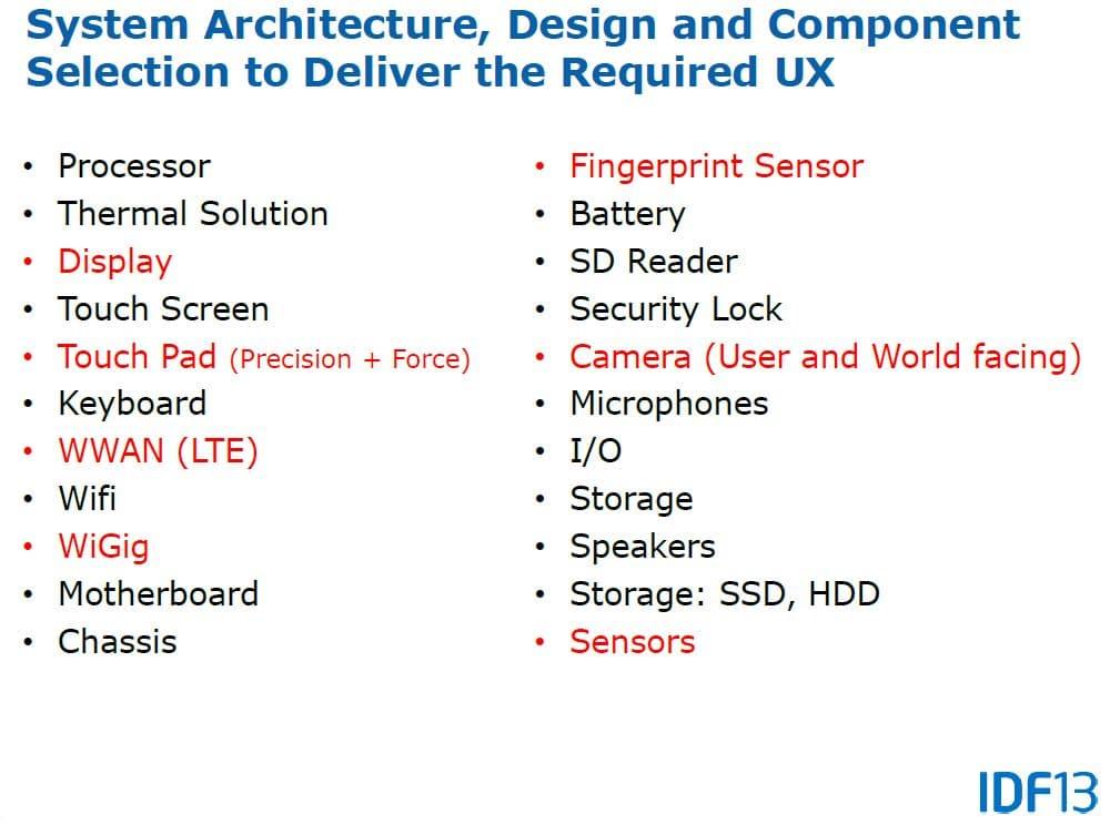 """<span class=""""tagtitre"""">IDF 2013 - </span>Intel dévoile sa vision pour les Ultrabooks Broadwell : 4K, USB 3.1, fanless, etc."""