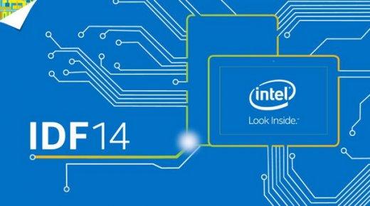 """<span class=""""tagtitre"""">IDF 2014 - </span>Intel dévoile son nouveau processeur Skylake, sucesseur de Broadwell en 2015"""