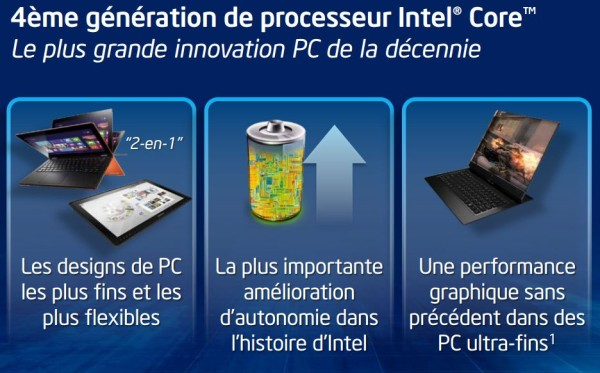 Intel Haswell officiel 1