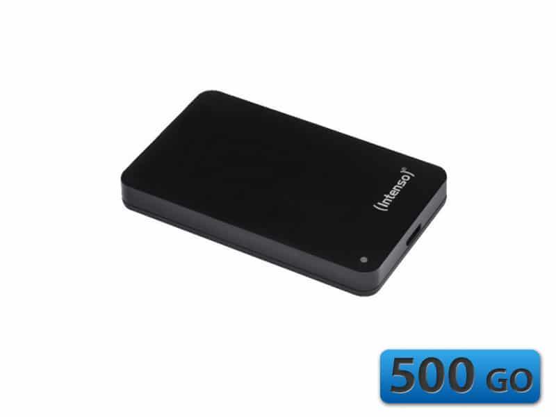 """<span class=""""tagtitre"""">Bon Plan - </span>disque dur externe 2.5"""" Intenso Memory Case de 500 Go en USB 3.0 à 49€"""