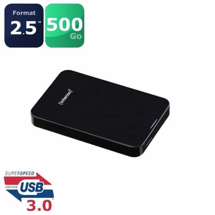 """<span class=""""tagtitre"""">Bon Plan - </span>disque durs externes 2.5"""" USB 3.0 : 1 To pour 74 euros, 500 Go pour 54 euros"""