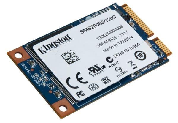 """<span class=""""tagtitre"""">Bon Plan - </span>SSD mSATA Kingston SSDNow mS200 de 120 Go à 56€"""