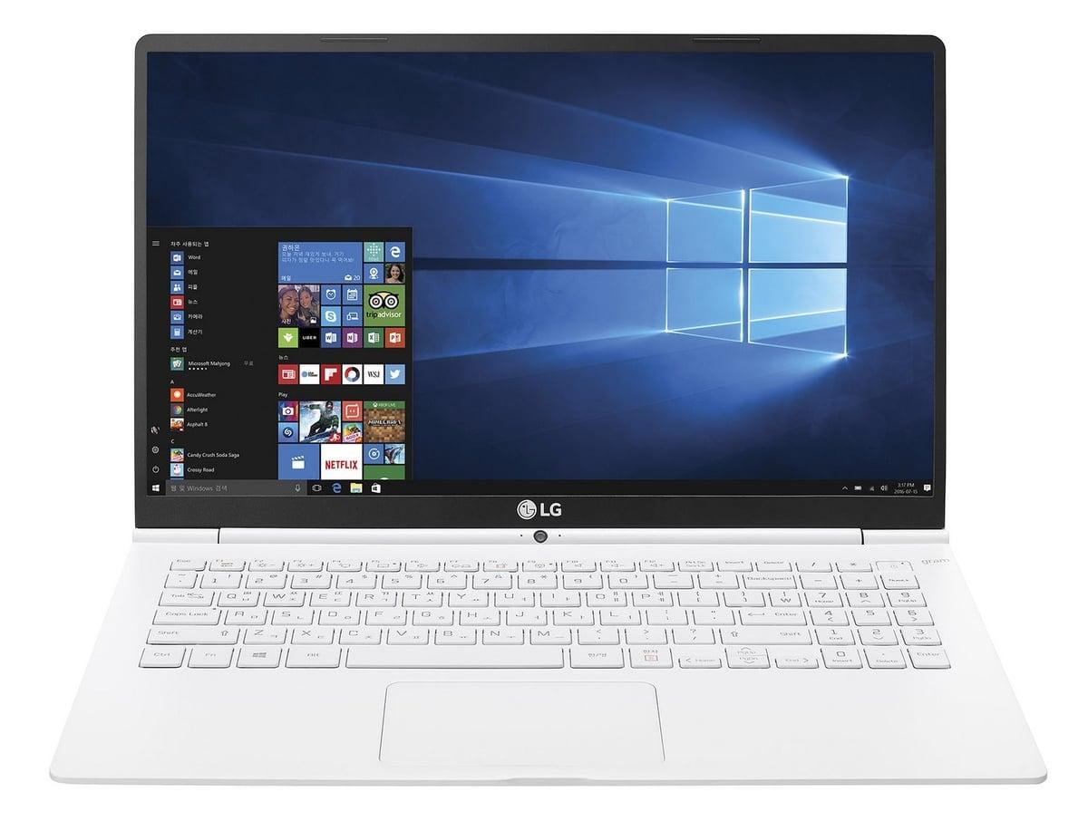 """<span class=""""tagtitre"""">CES 2017 - </span>LG Gram : des Ultrabooks Kaby Lake avec autonomie de 24 heures !"""