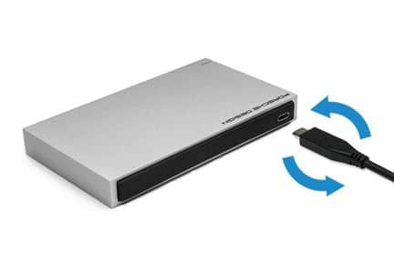 """LaCie Porsche Design Mobile Drive, disque dur externe 2.5"""" USB Type-C"""