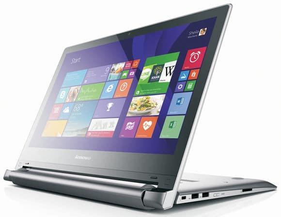 """Lenovo Flex 2, nouveaux PC portables tactiles hybrides de 14"""" et 15.6"""" (AMD, Intel, Nvidia)"""
