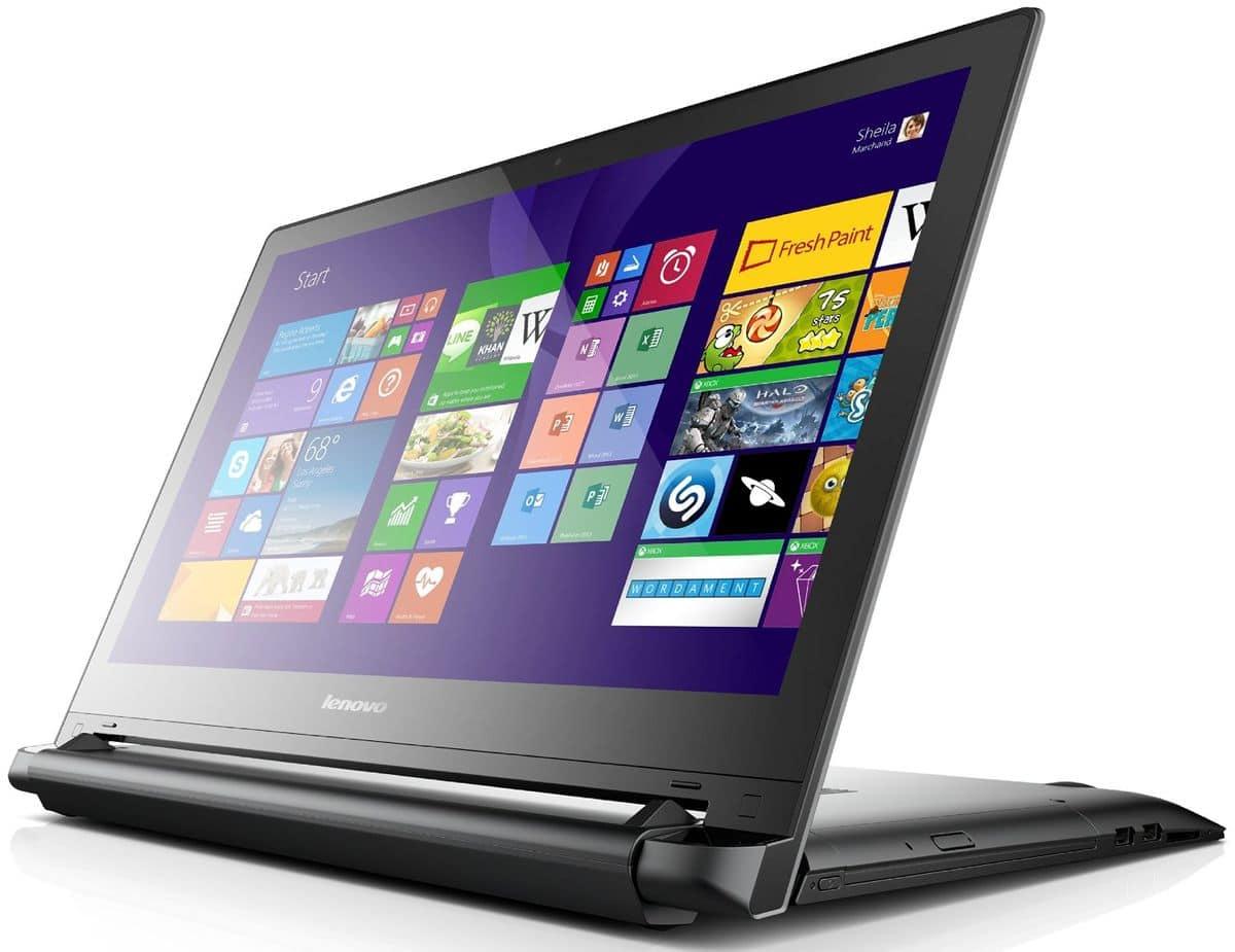 Lenovo Flex 2 à 675€, PC portable 15 pouces Full HD tactile polyvalent