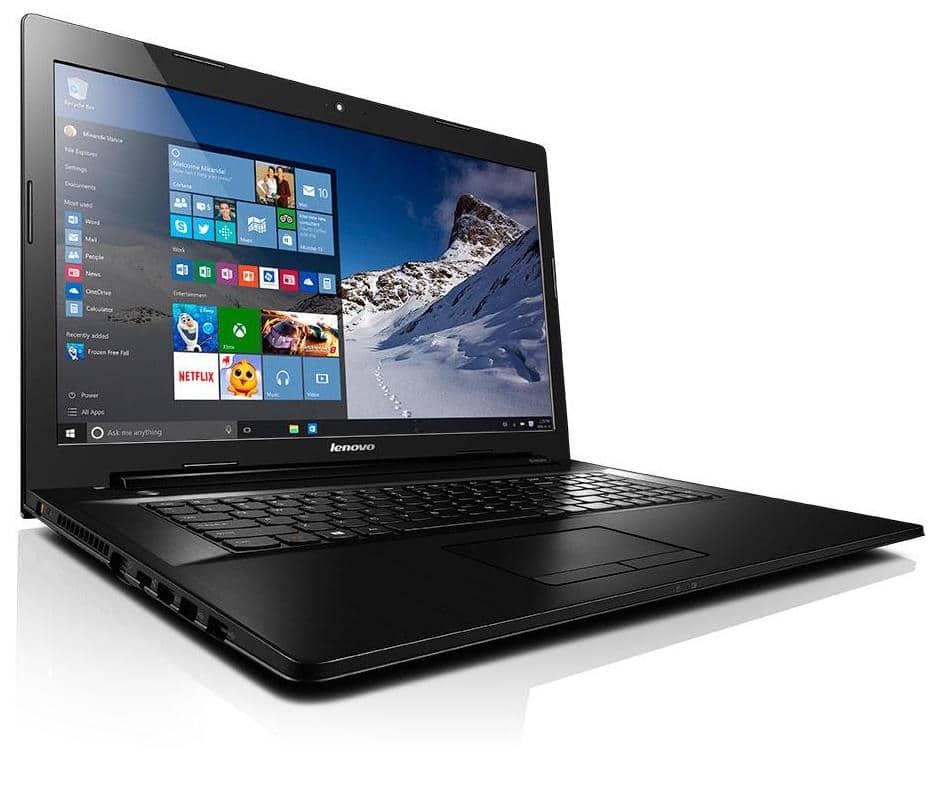 """<span class=""""tagtitre"""">Promo 308€ - </span>Lenovo G70-35, PC portable 17 pouces bureautique à 349€"""