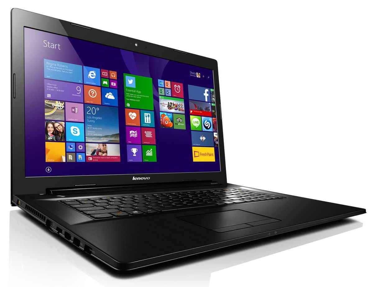 """<span class=""""tagtitre"""">Promo 329€ - </span>Lenovo G70-70/07 à 399€, PC portable 17 pouces"""