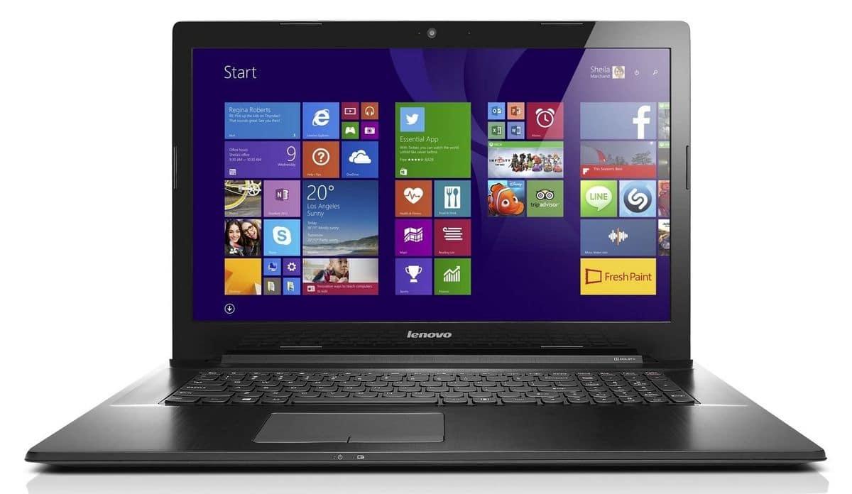"""<span class=""""tagtitre""""><del>Soldes 429€ - </span>Lenovo G70-70, PC portable 17.3 pouces</del>"""