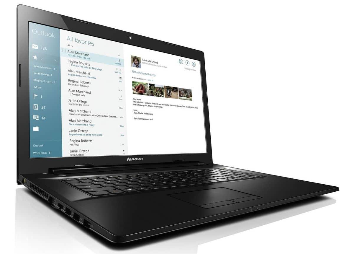 Lenovo G70-70 soldé à 429€ (-TVA), PC portable 17 pouces