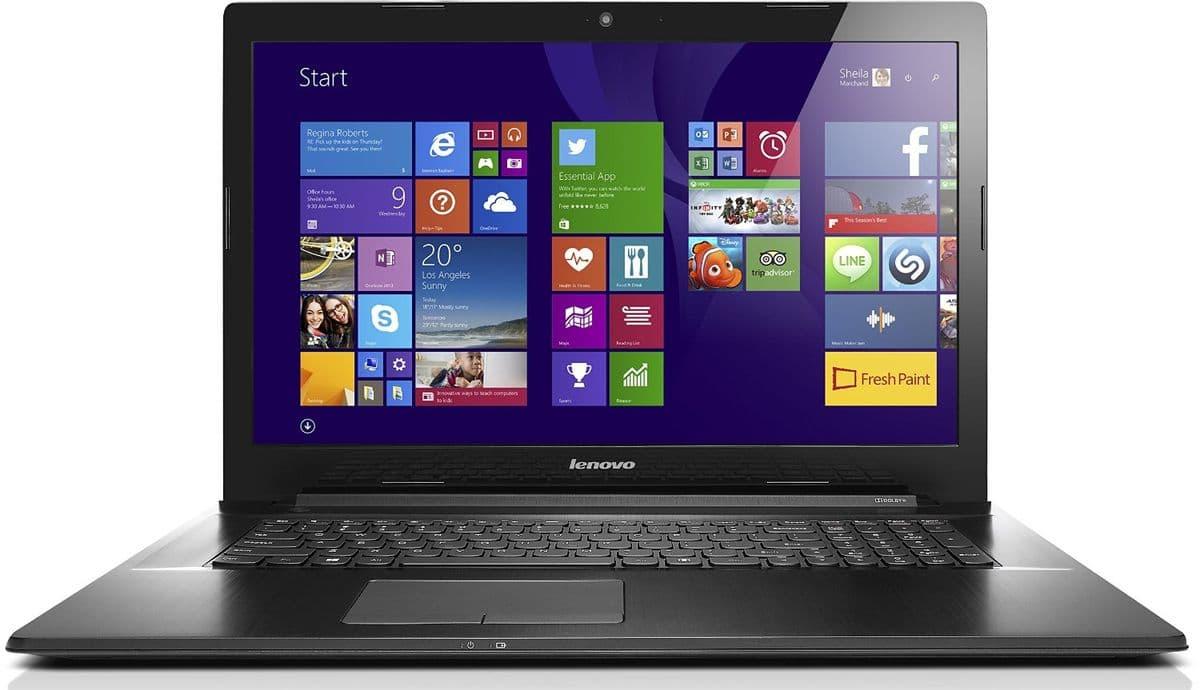 Lenovo G70-70 à 499€, PC portable 17 pouces