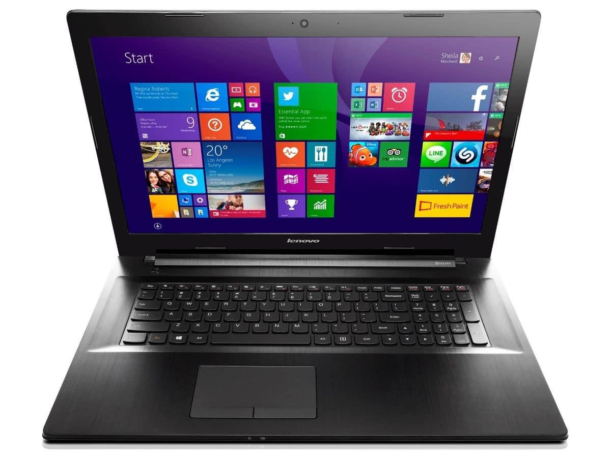 """<span class=""""toptagtitre"""">Promo 299€ ! </span>Lenovo G70-80, PC portable 17 pouces Broadwell"""