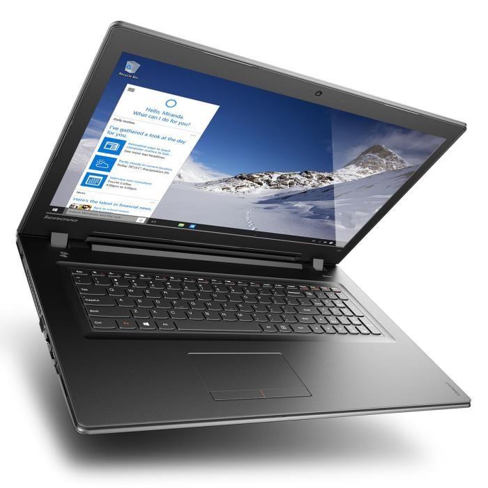 Lenovo IdeaPad 300-17ISK à 599€, PC portable 17 pouces Core i5 Skylake
