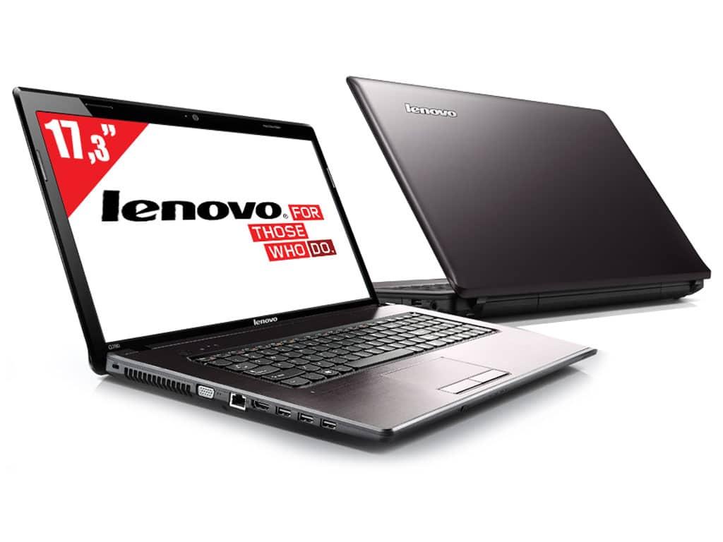 """Lenovo IdeaPad G780 avec sacoche à 369€ : 17.3"""", Dual Core Ivy Bridge, 320 Go"""