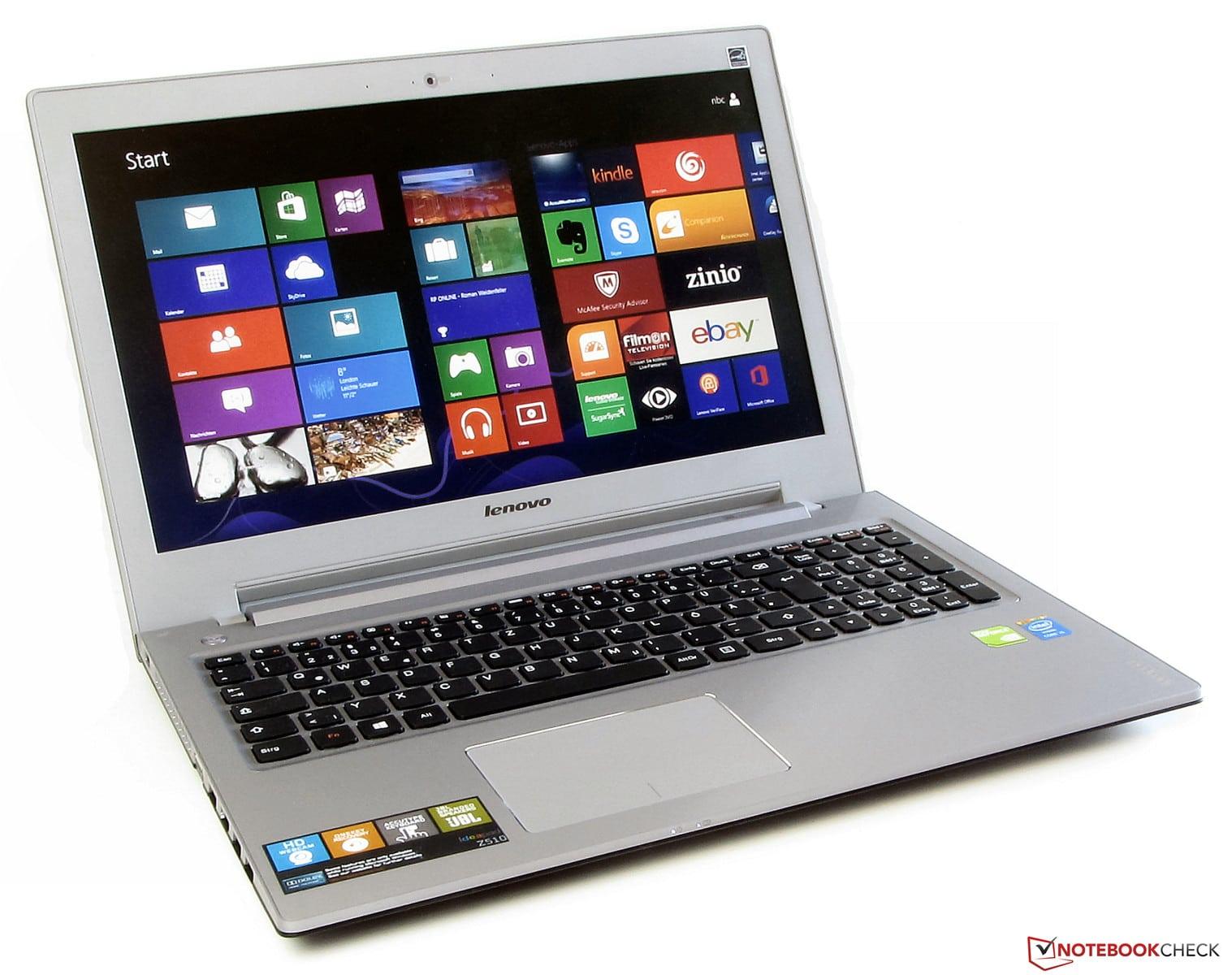 Revue de presse des tests publiés sur le Web (Lenovo IdeaPad Z510 Haswell)