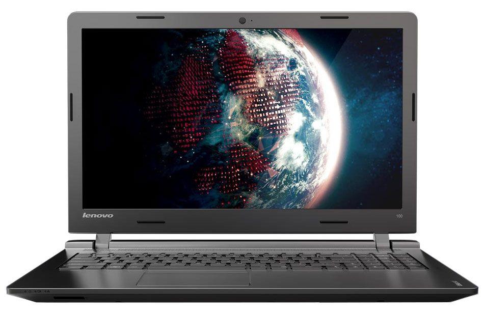 """<span class=""""toptagtitre"""">Promo 249€ ! </span>Lenovo Ideapad 100-15IBY à 299€, PC portable 15 pouces mat noir"""