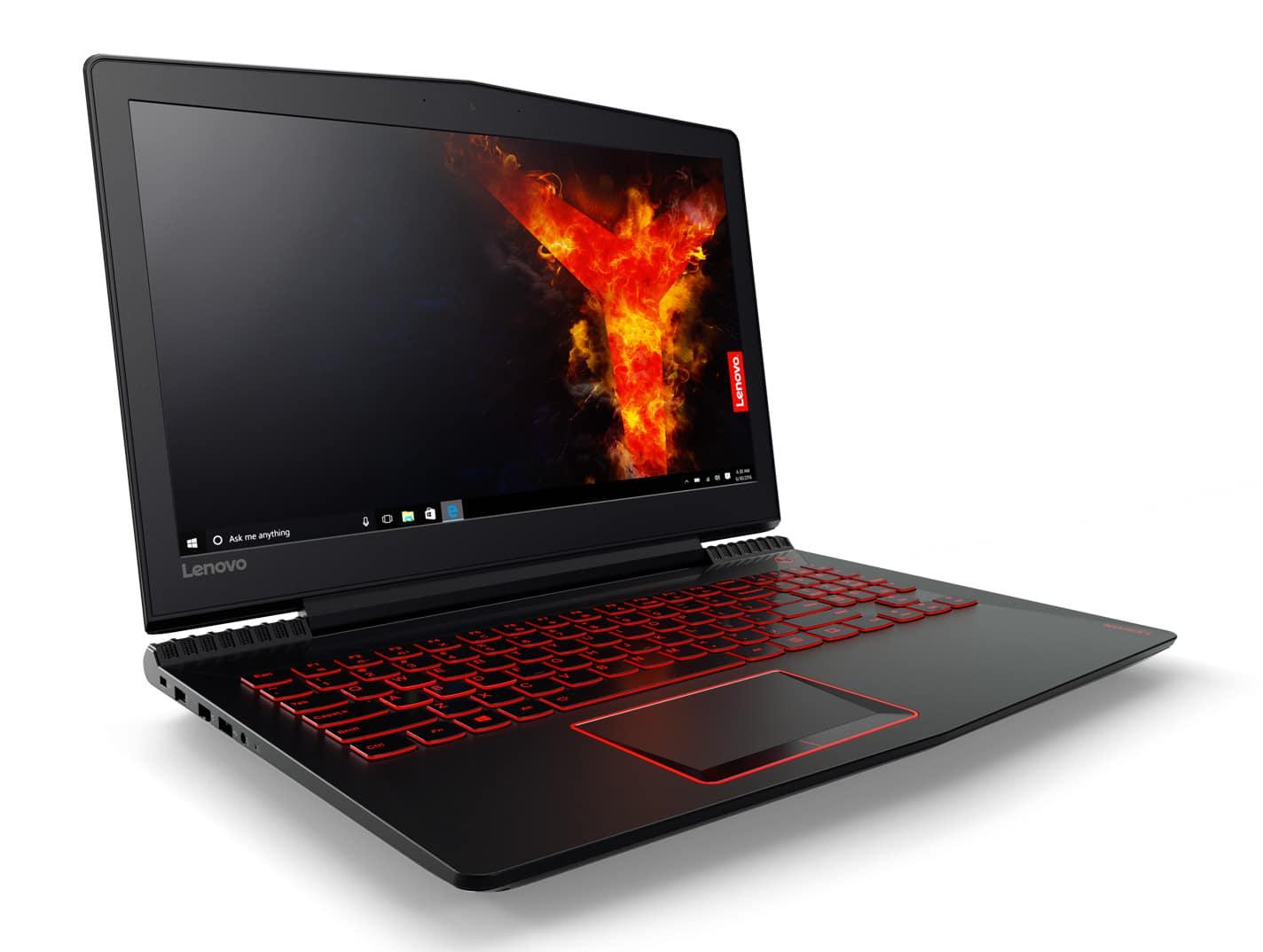 Lenovo Legion Y720-15IKB, PC portable 15 pouces IPS SSD GTX1060 (999€)