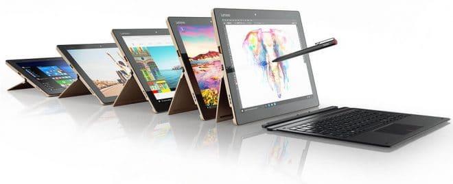 Lenovo Miix 710, nouvel hybride tactile/Tablette 12 pouces, processeur Kaby Lake