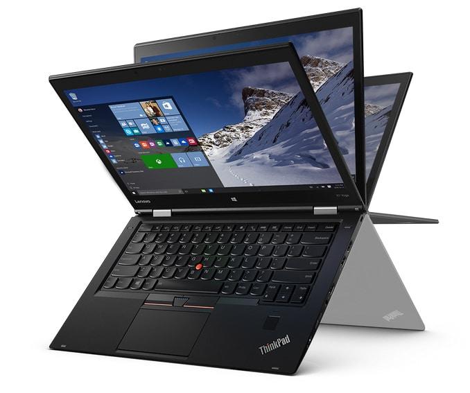"""<span class=""""tagtitre"""">CES 2016 - </span>Lenovo dévoile de son ThinkPad X1 Yoga avec écran OLED..."""