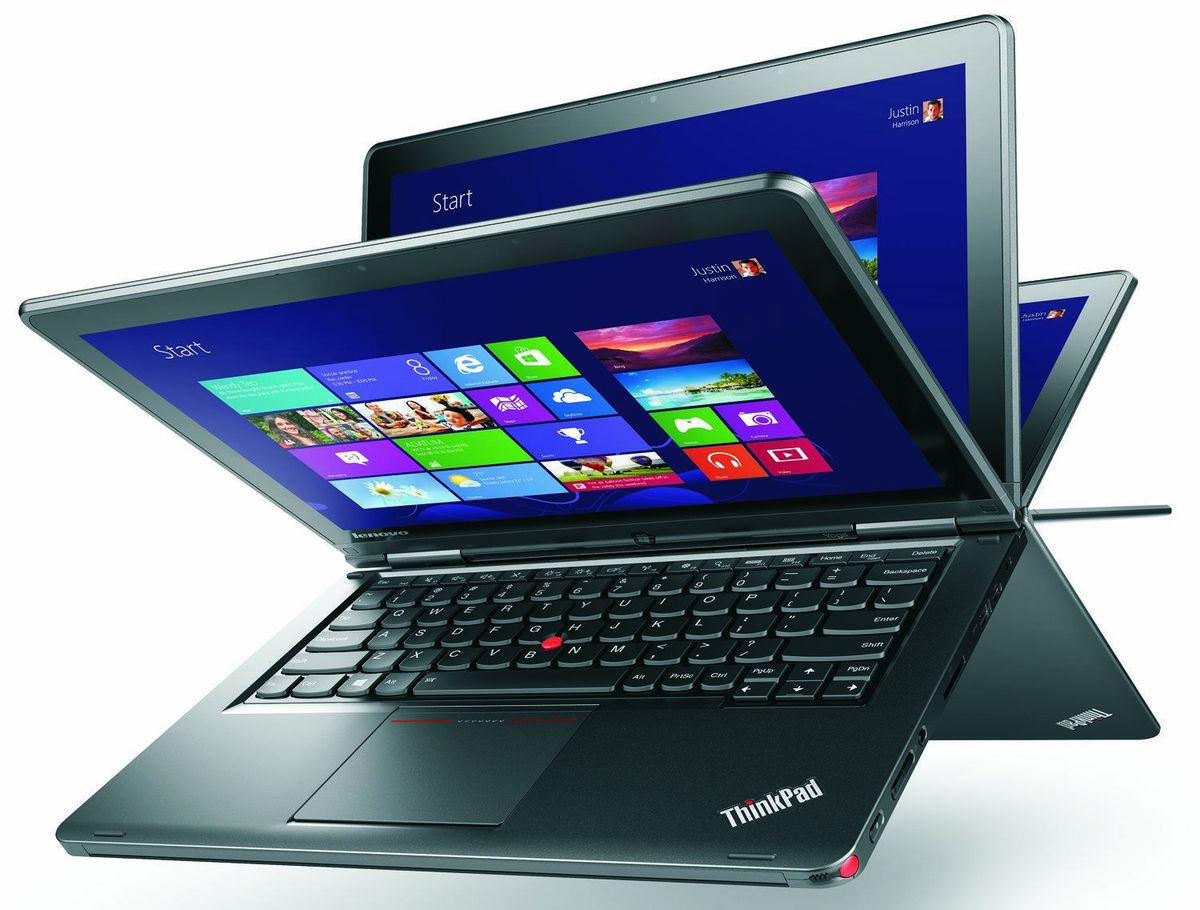 """<span class=""""tagtitre"""">IFA 2013 - </span>Lenovo ThinkPad Yoga, 12.5"""" tactile/Tablette : Haswell, Full HD, SSD"""