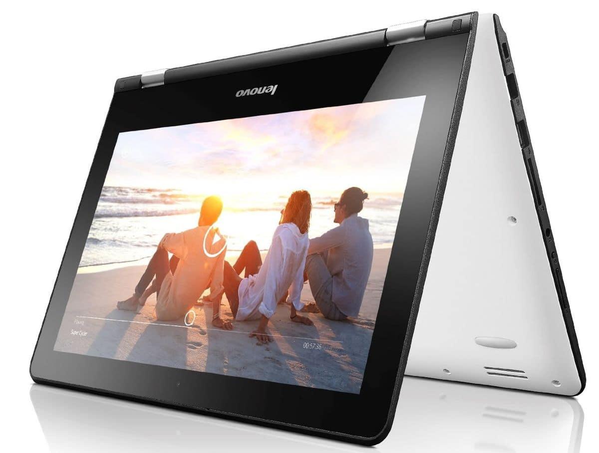 Lenovo Yoga 300-11IBR à 490€, ultraportable 11 pouces tactile/Tablette