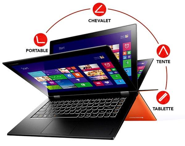 Lenovo Yoga 2 Pro orange 3