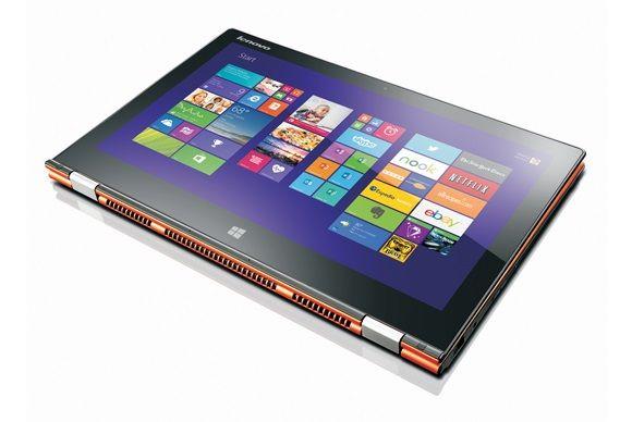 """Lenovo Yoga 3 Pro, spécifications officielles : Intel Core M Broadwell, 13.3"""" QHD+ tactile/Tablette"""