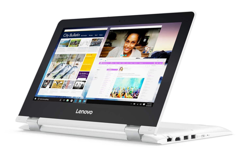 """<span class=""""tagtitre"""">Promo - </span>Lenovo Yoga 300-11IBR, ultraportable 11"""" convertible bureautique à 297€"""
