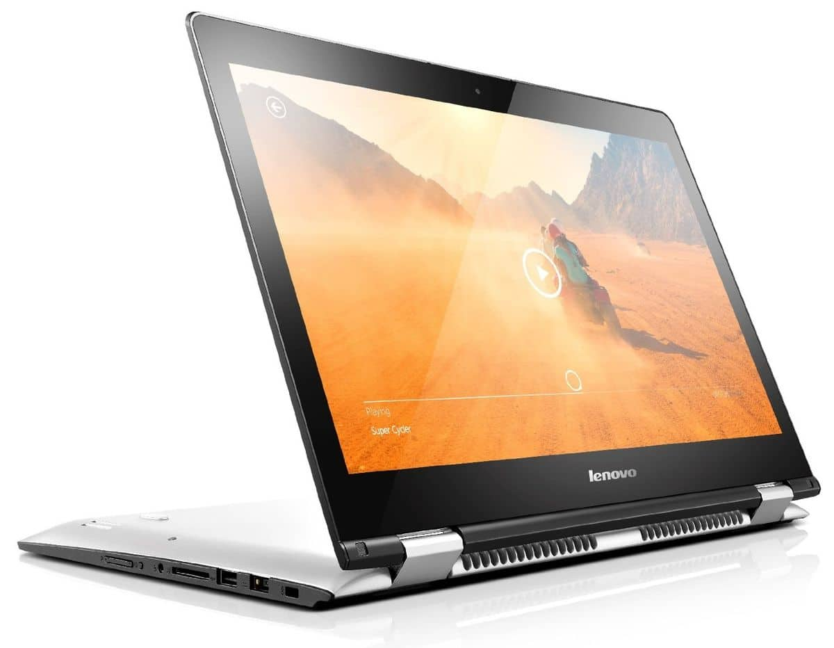 Lenovo Yoga 500-14IBD, PC portable 14 pouces tactile/Tablette (349€)