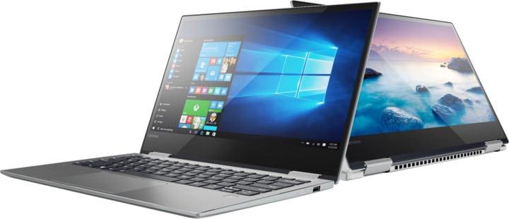 Revue de presse des tests publiés sur le Web (Lenovo Yoga 720-13IKB)