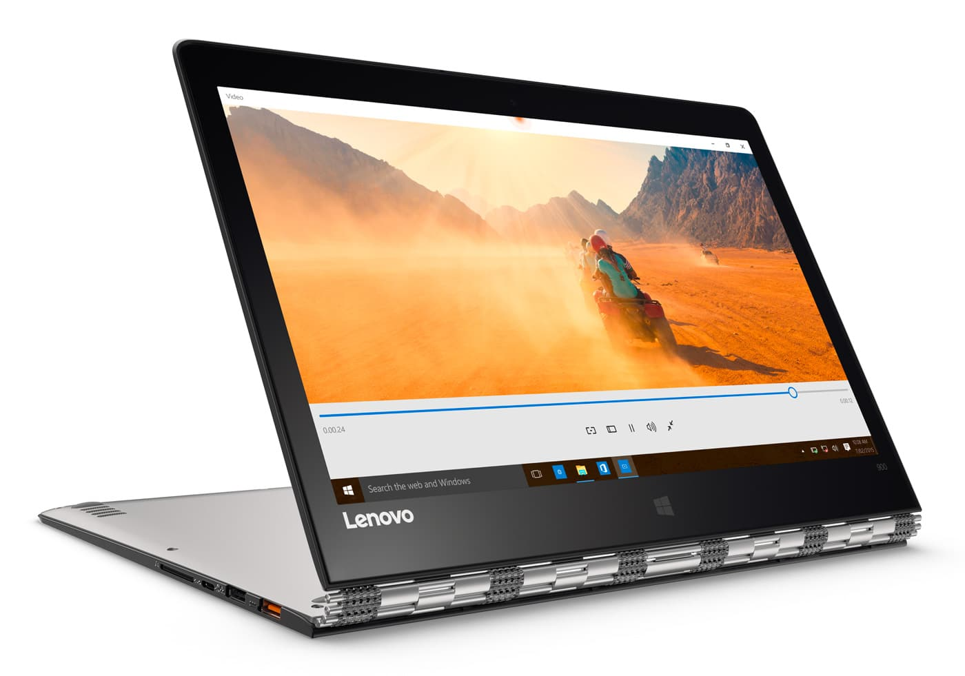 Lenovo Yoga 900-13ISK2, 13 pouces convertible SSD 1To QHD+ tactile i7 Iris 1599€