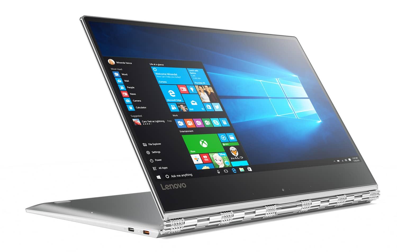 """Lenovo Yoga 910-13IKB, ultrabook 13"""" tablette SSD256Go Full IPS Kaby promo 1199€"""