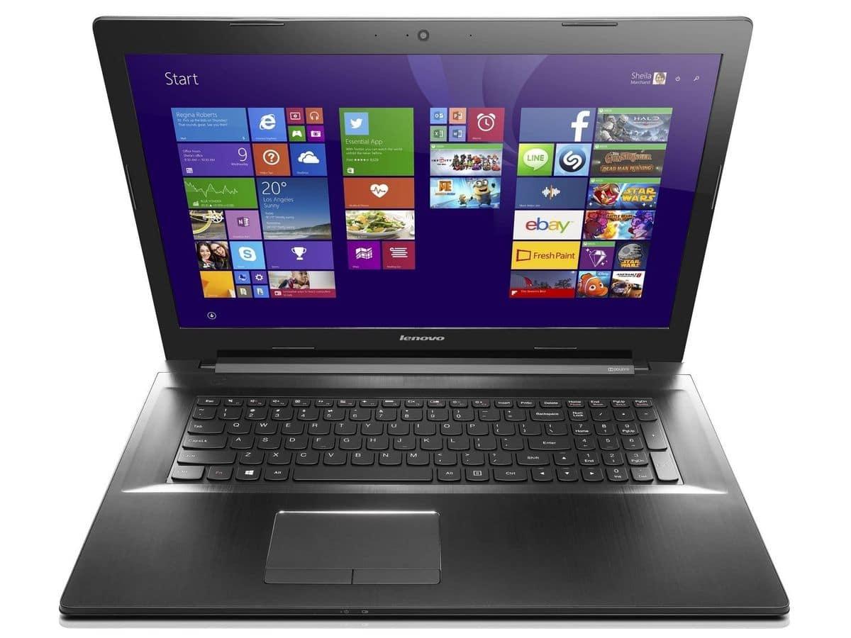 "<span class=""toptagtitre""><del>Soldes 517€ ! </span>Lenovo Z70-80, PC portable 17.3"" Full HD mat polyvalent à 799€</del>"